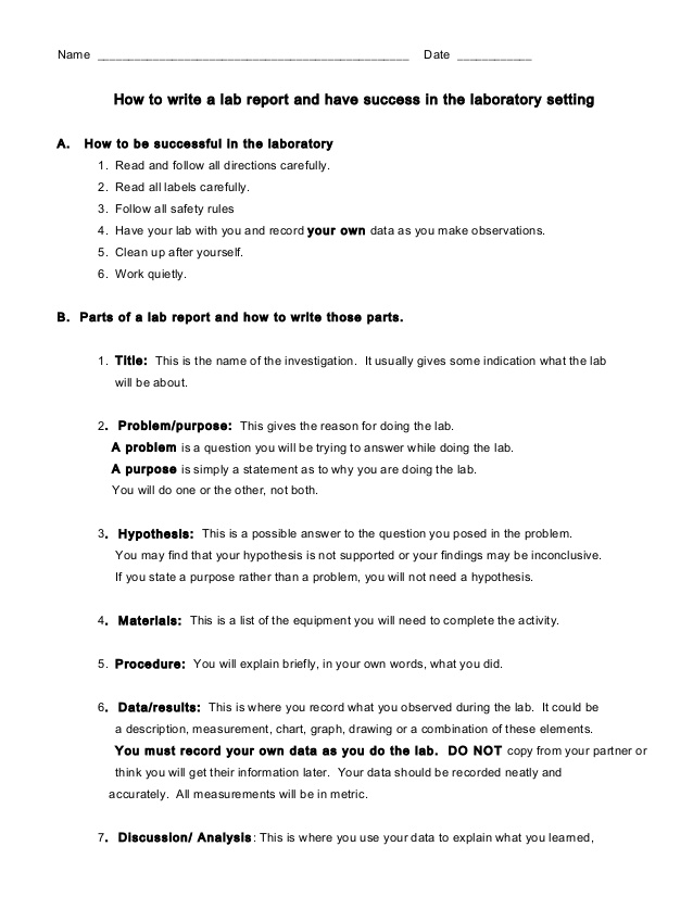 How to write a lab reports resume senior engineer
