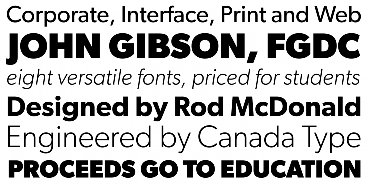 Gibson | Canada Type